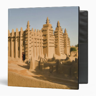 Mosque at Djenne, a classic example of 3 Ring Binder