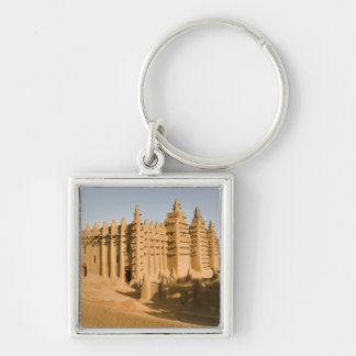 Mosque at Djenne, a classic example of Keychain