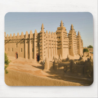 Mosque at Djenne, a classic example of Mouse Pad