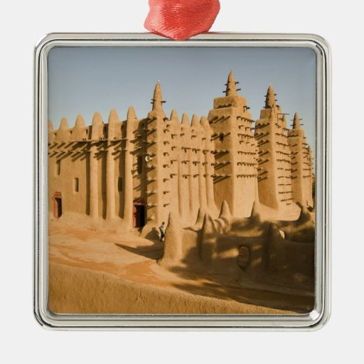 Mosque at Djenne, a classic example of Christmas Ornament