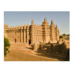 Mosque at Djenne, a classic example of Postcard