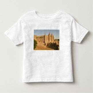 Mosque at Djenne, a classic example of Toddler T-shirt