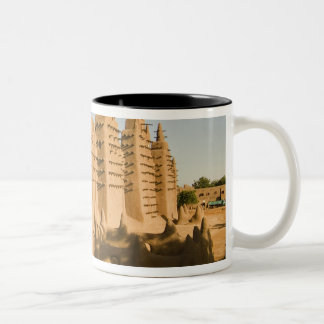 Mosque at Djenne, a classic example of Two-Tone Coffee Mug