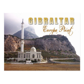 Mosque at Europa Point, Gibraltar Postcard