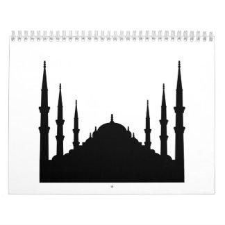 Mosque Wall Calendar