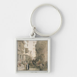 """Mosque El Mooristan, Cairo, from """"Egypt and Nubia"""" Key Chain"""