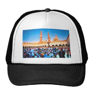 Mosque gatherin during Ramadan Mesh Hats