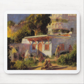 Mosque in Algiers by Pierre-Auguste Renoir Mouse Pad