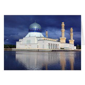 Mosque Kota Kinabalu Card
