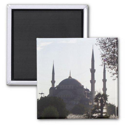 Mosque Minarets and more Fridge Magnet