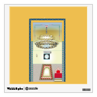 Mosque Mumber Wall Decal