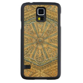 Mosque of Cordoba Spain. Mihrab cupola Carved Maple Galaxy S5 Slim Case