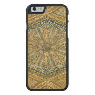 Mosque of Cordoba Spain. Mihrab cupola Carved Maple iPhone 6 Slim Case