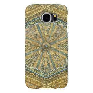 Mosque of Cordoba Spain. Mihrab cupola Samsung Galaxy S6 Case
