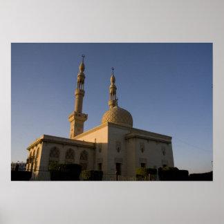 Mosque of Hamza, Suez, South Sinai, Egypt Poster