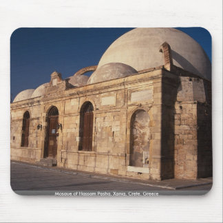 Mosque of Hassam Pasha, Xania, Crete, Greece Mousepads