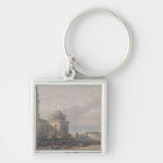 Mosque of Sultan Hasan from Great Square Rumeyleh Keychain