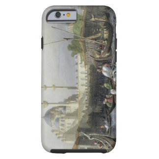 Mosque of Sultana Valide from the Port, engraved b Tough iPhone 6 Case