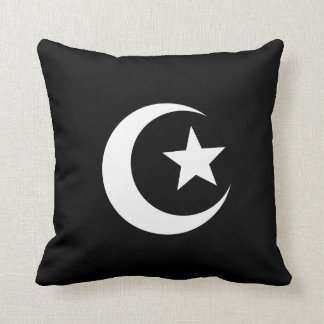 Mosque Pictogram Throw Pillow