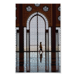 mosque refection photo print