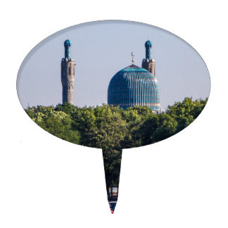 Mosque St Petersburg Russia Cake Topper