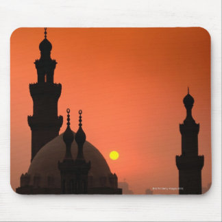 Mosques at Sunset Mouse Pad