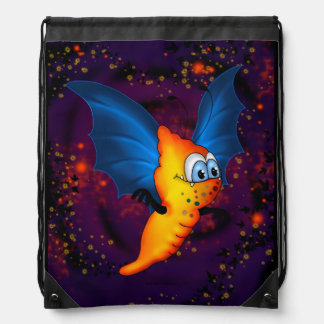 MOSQUITO 2 MONSTER CARTOON Drawstring Backpack