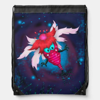 MOSQUITO 3 MONSTER CARTOON Drawstring Backpack