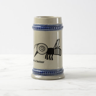 Mosquito Beer Stein