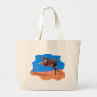 Mosquito Biting Tote Bag