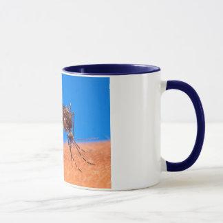 Mosquito Biting Mug