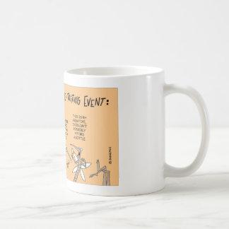 Mosquito blood testing event coffee mug