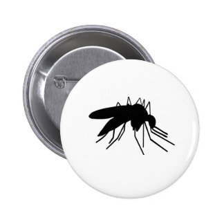 Mosquito Pinback Buttons