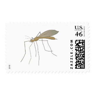 mosquito crane fly stamps