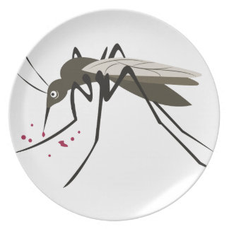 Mosquito Dinner Plate