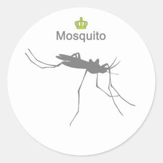 Mosquito g5 classic round sticker