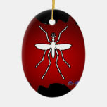 MOSQUITO GIFT CUSTOMIZABLE PRODUCTS CHRISTMAS ORNAMENTS