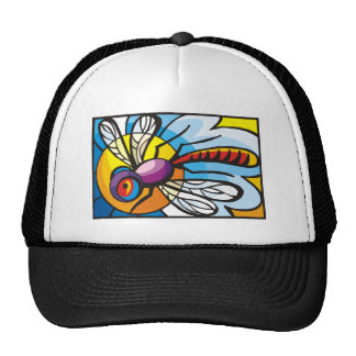 mosquito party trucker hat