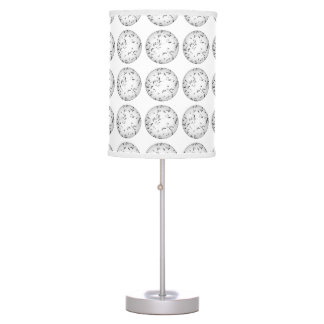 Mosquito pattern table lamps
