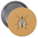 Mosquito Pinback Button