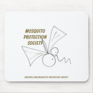Mosquito Protection Society Mouse Pad