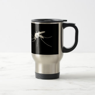 Mosquito Side View 15 Oz Stainless Steel Travel Mug