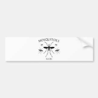 Mosquitoes Suck Bumper Sticker