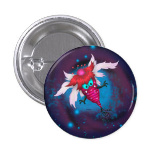 MOSQUITOS 2 ALIEN MONSTER CARTOON  Button small