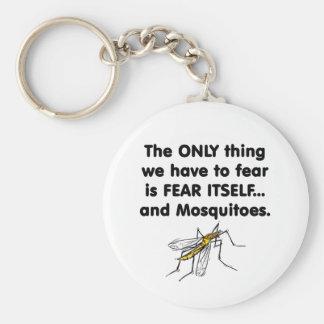 mosquitos 2 del miedo sí mismo llavero redondo tipo pin