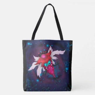 MOSQUITOS 3 ALIEN MONSTER ALIEN CARTOON TOTE BAG
