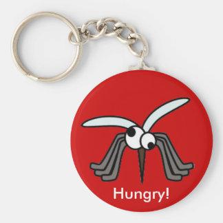 ¡Mosquitos - hambrientos! Llaveros