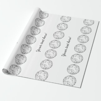 Mosquitos pattern wrapping paper