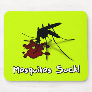 Mosquitos Suck Mouse Pad