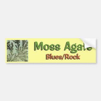 Moss Agate Bumper Sticker -1 Car Bumper Sticker